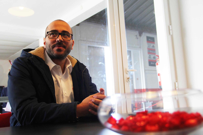 Daniel Costa, responsável do projecto de Espanha