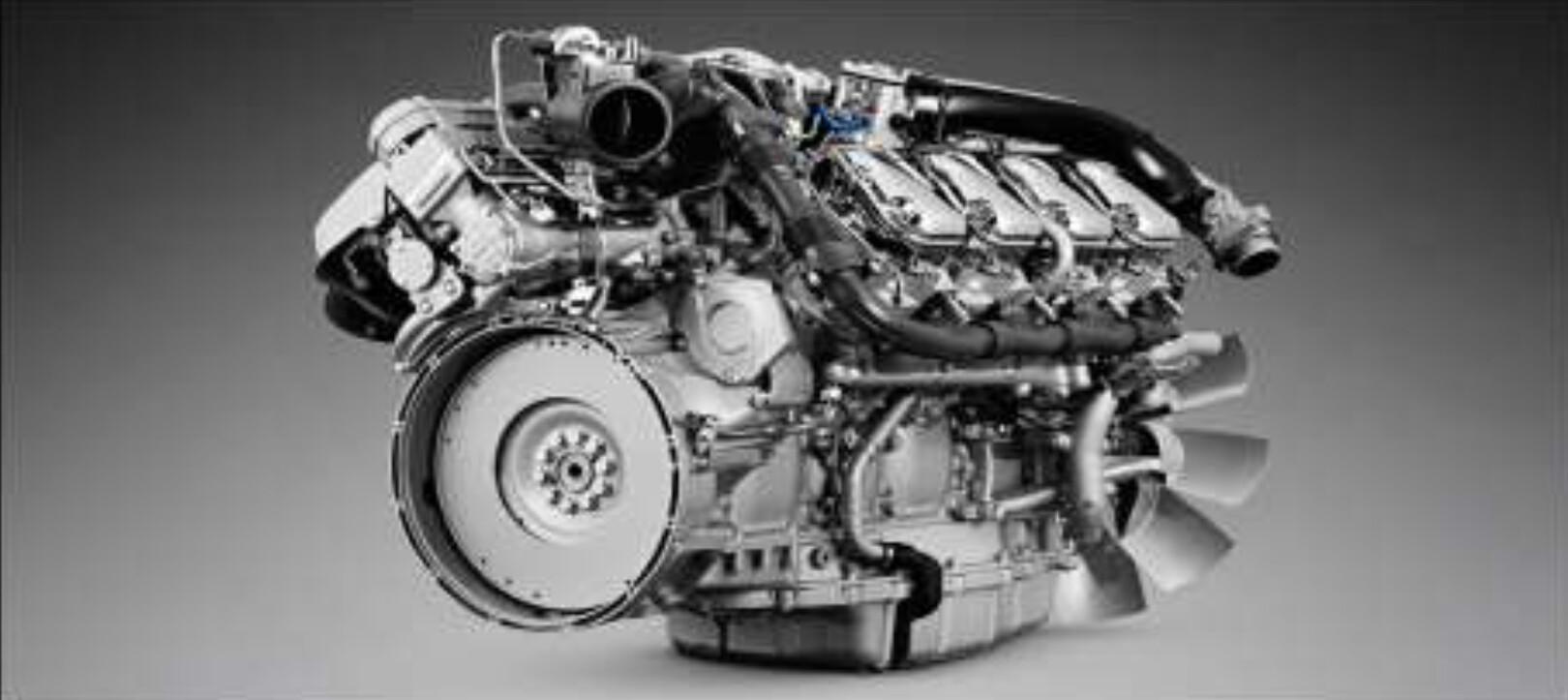 Nova geração de motores V8