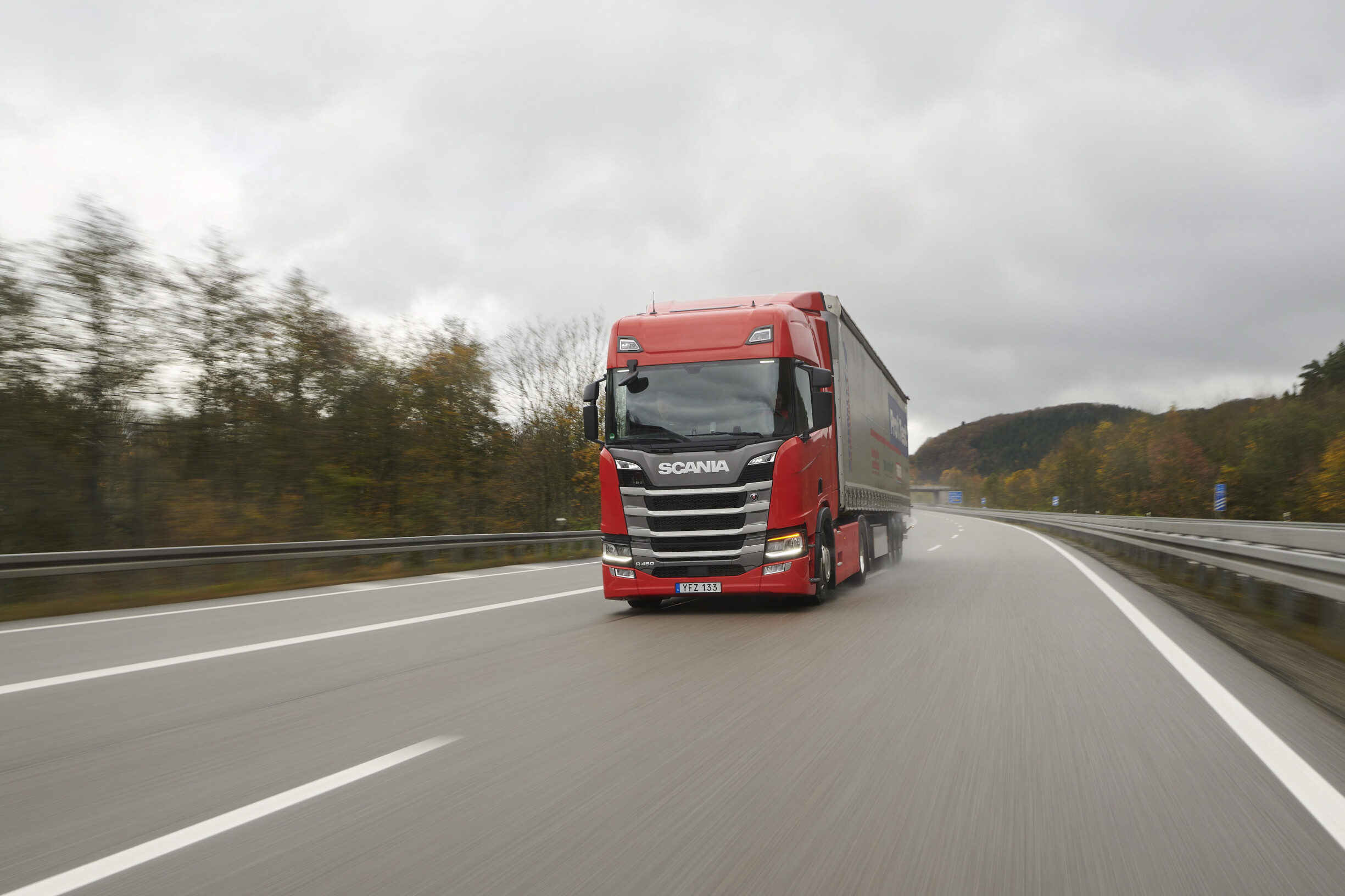 Scania ganha a prova europeia de camiões