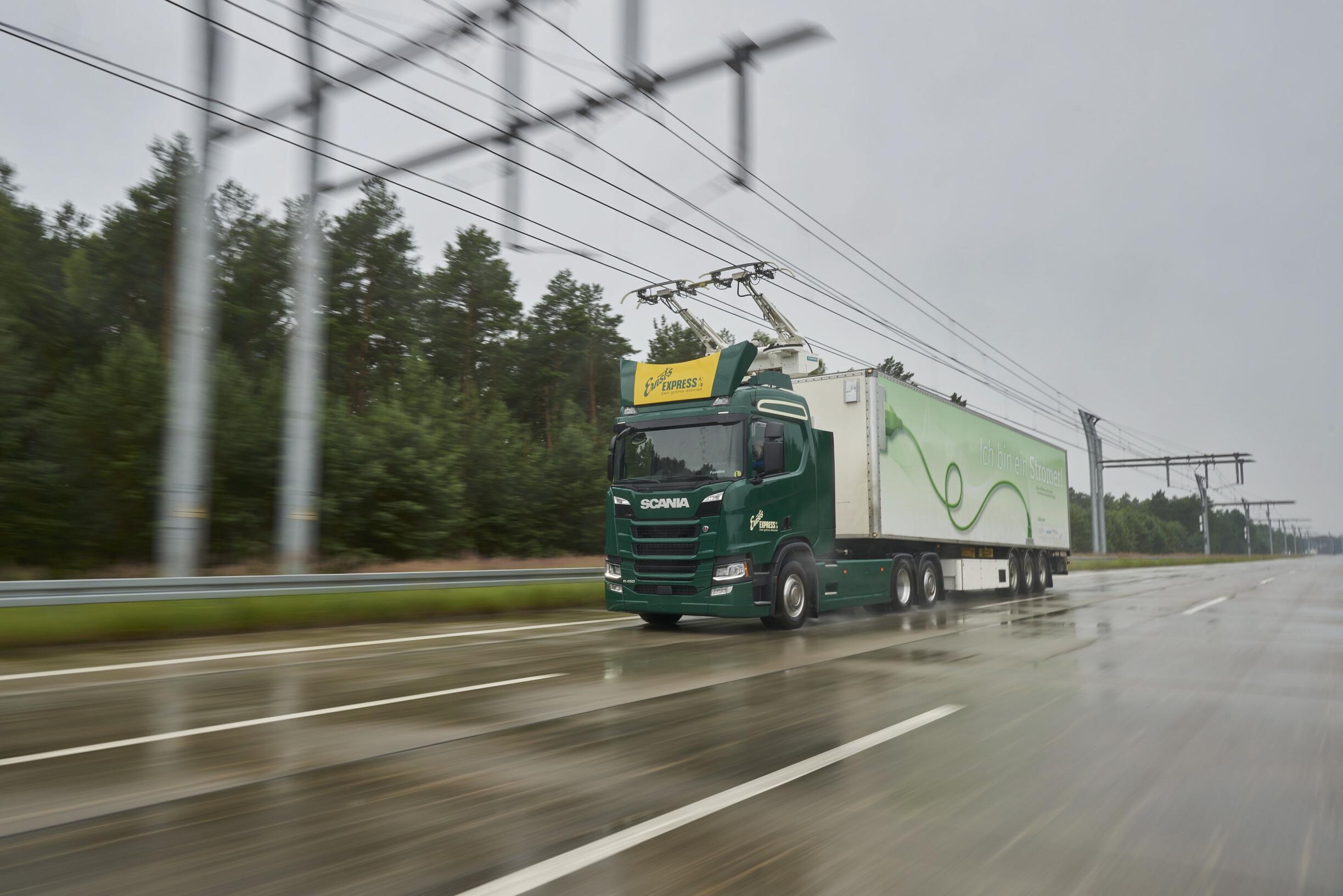 Solução de transporte sustentável Scania