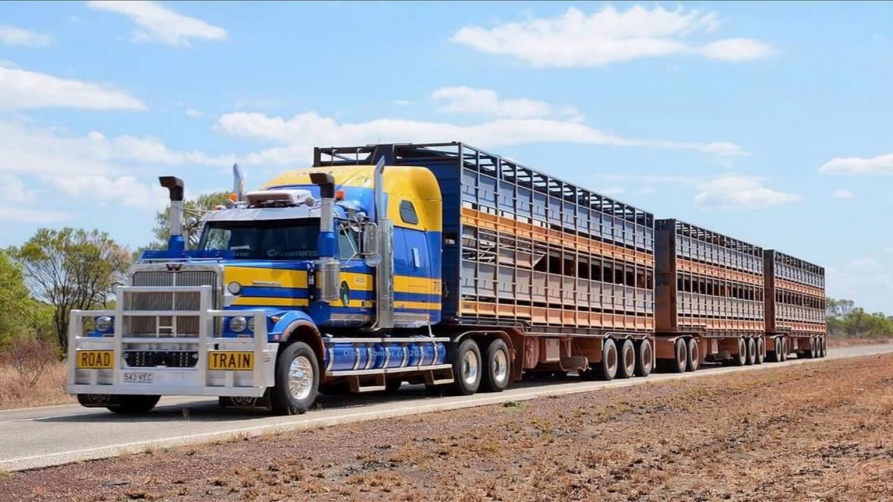 Road train Austrália