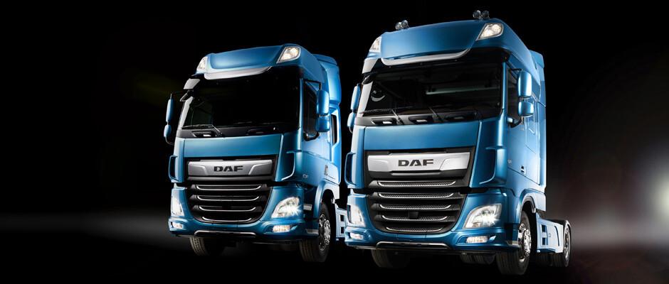 DAF - Novos CF e XF
