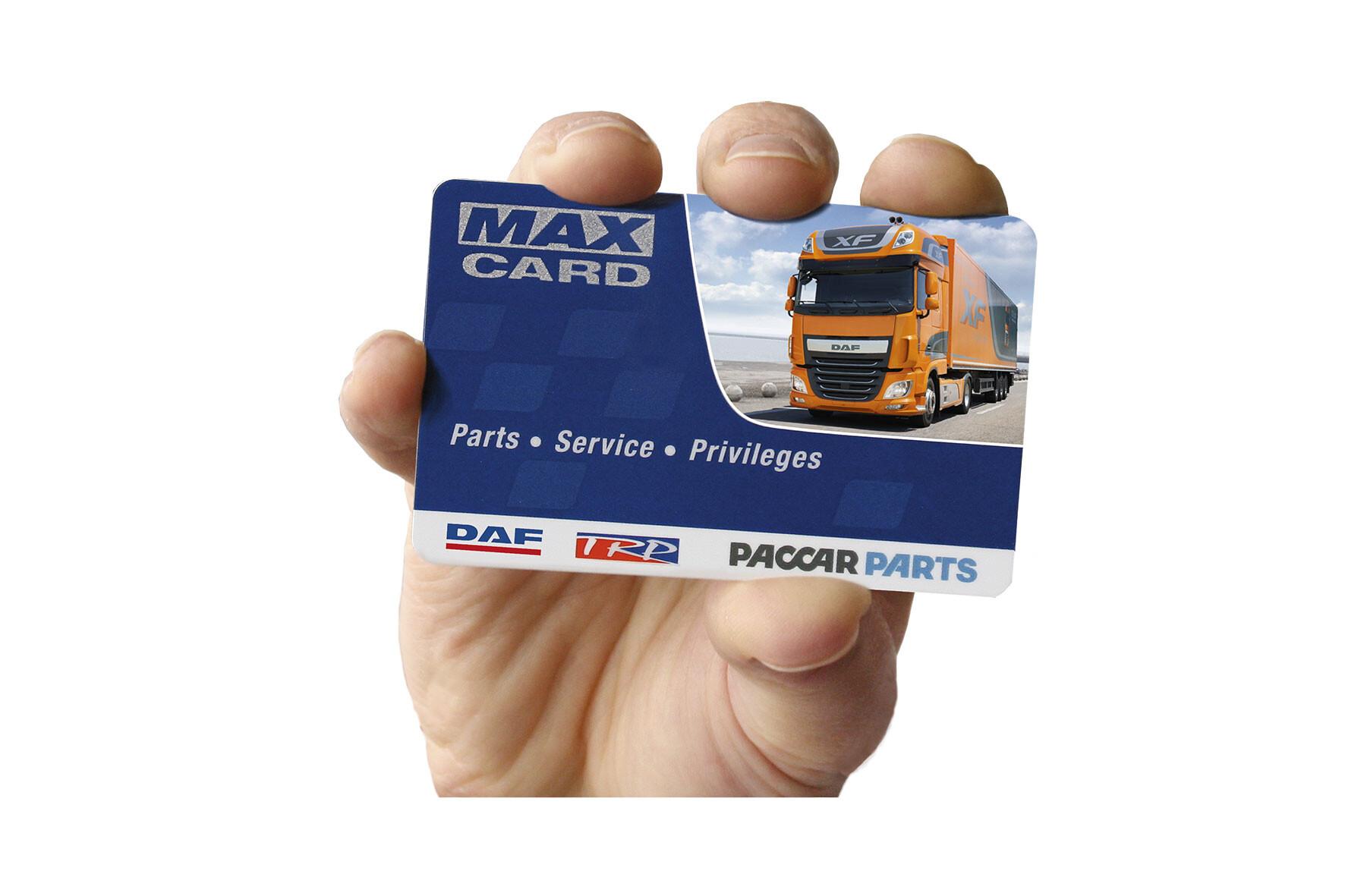 Cartão MAX