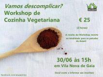 Workshop de Cozinha Vegetariana para ajudar os patudos-image