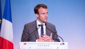 Macron o mais novo presidente francês de sempre-image