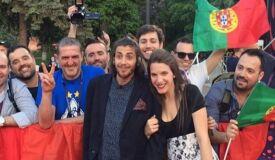Salvador Sobral já está em Kiev para o Festival da Canção-image