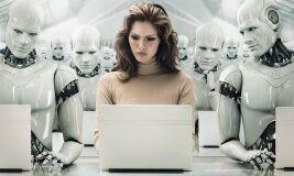Fale com a robô-image