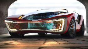 Conceito do supercarro autónomo do futuro quer ser divertido-image