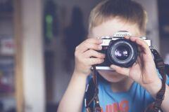 Fotos bonitas dos seus filhos sem os revelar completamente-image