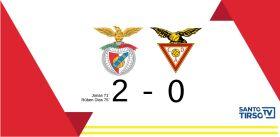 Desportivo das Aves perde 2-0 com o Benfica-image
