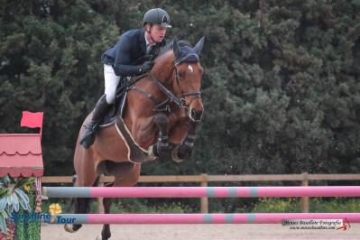 Cavalos novos saltam no Sunshine Tour
