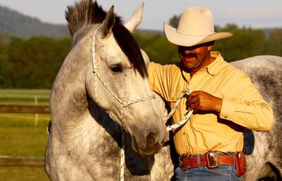 Um horseman americano em Portugal