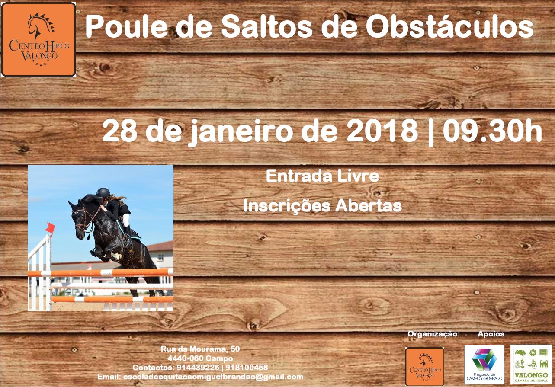 Cartaz_Poule de Saltos de Obstáculos_28 jan. 18