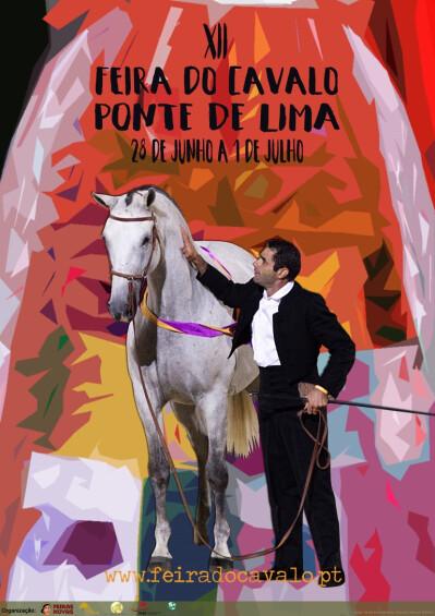 Cartaz de Ponte de Lima apresentado na Golegã