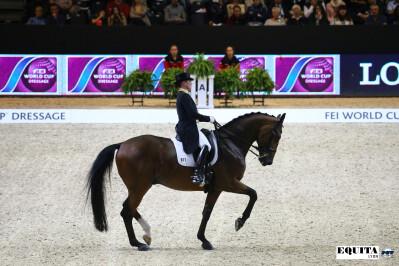 Isabell Werth vence em Lyon