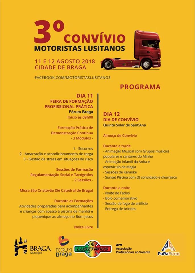 Programa Convívio Motorista Lusitanos