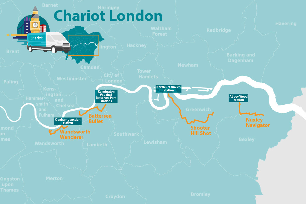 Chariot Routes London