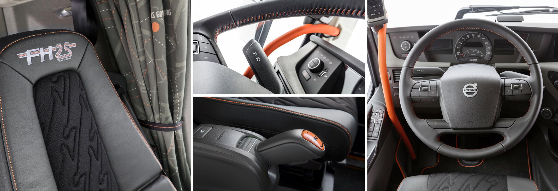 Volvo FH Edição 25 anos -Interior