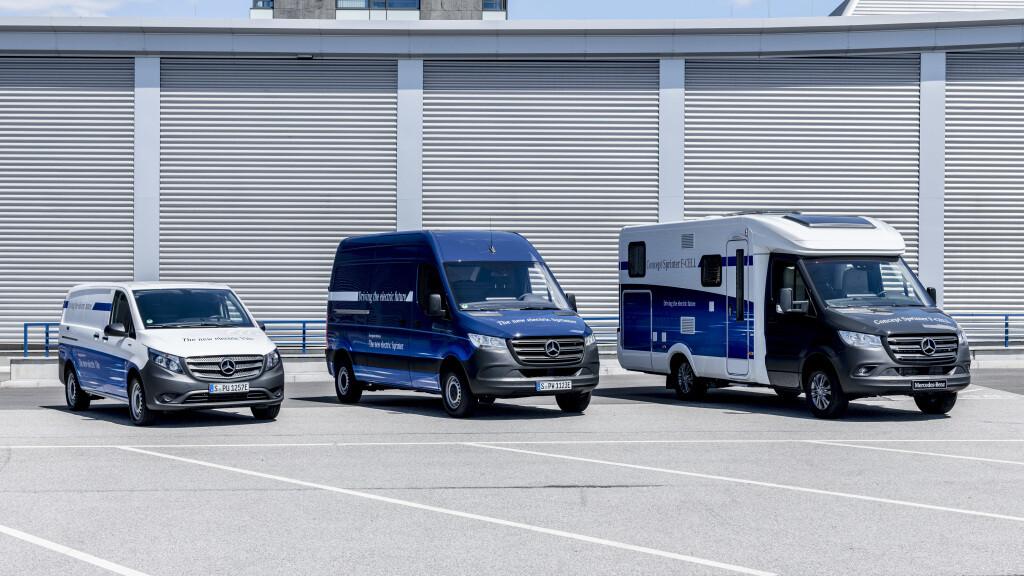 Mercedes-Benz eVito e eSprinter