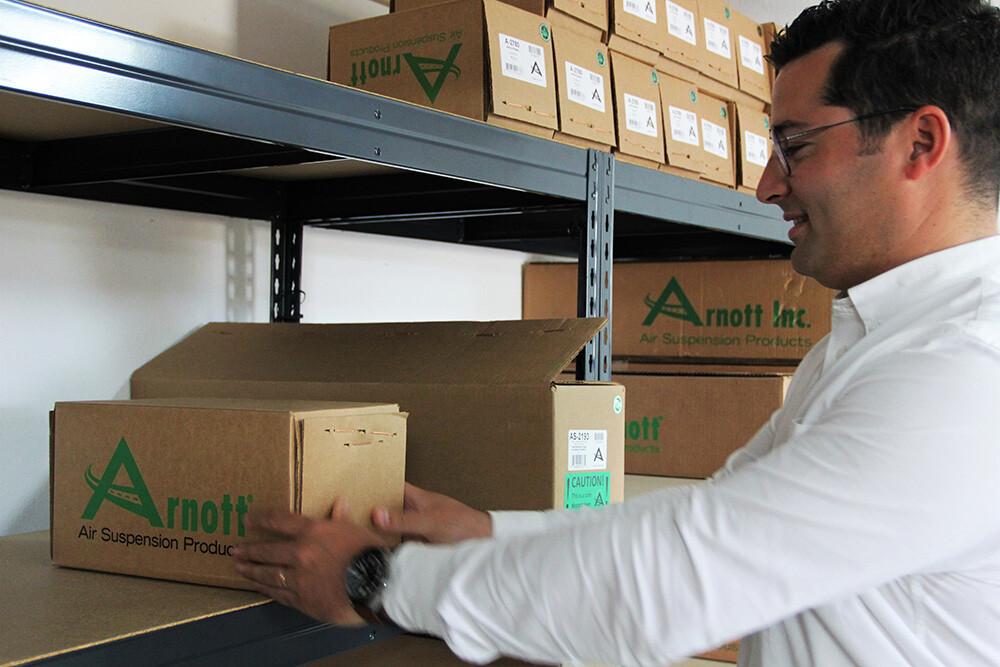 A Pro4Matic é o principal distribuidor Arnott em Portugal