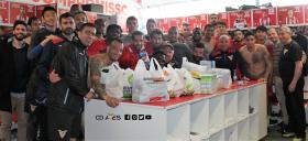 CD Aves ofereceu bilhetes em troca de bens alimentares-image