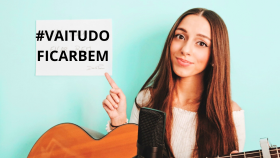 Cantora tirsense junta-se à luta contra a Covid-19 com música adaptada-image