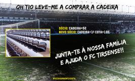 Quer ver bancada central do estádio do Tirsense cheia de cadeiras?-image