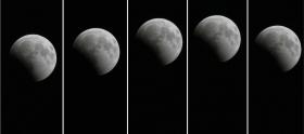 Hoje há eclipse parcial da lua-image