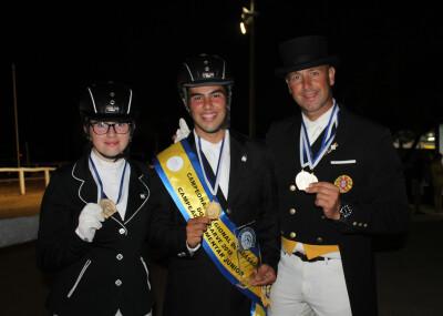 Medalhas para a Lusitanus Dressage Team