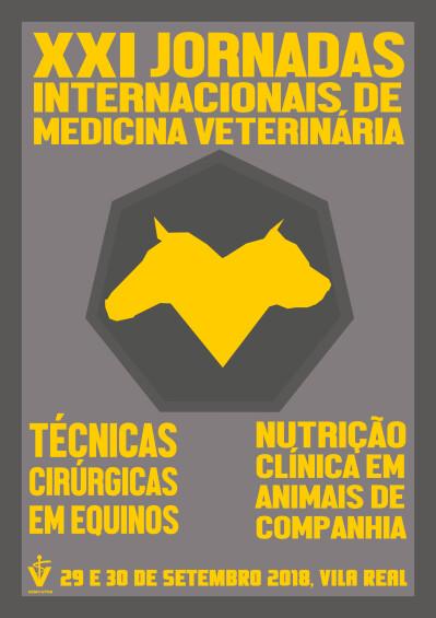 XXI Jornadas Internacionais de Medicina Veterinária da UTAD